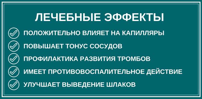Лечебные эффекты Троксевазина
