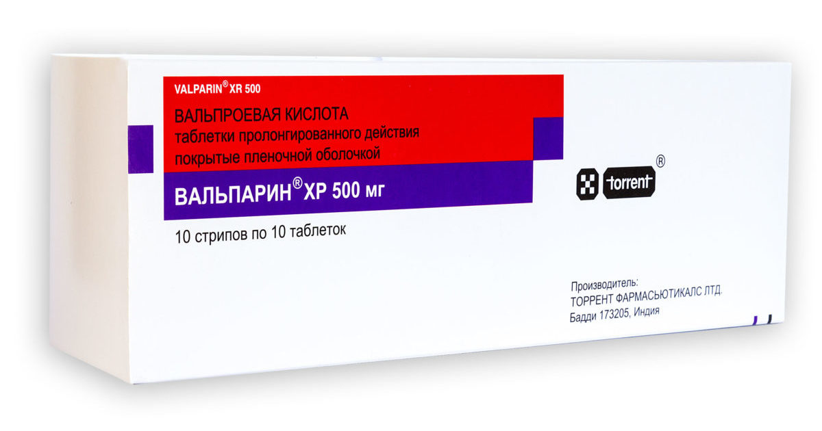 Вальпарин xp 500 мг 100 табл цена 1309 руб в Москве, купить Вальпарин xp 500 мг 100 табл инструкция по применению, отзывы в интернет аптеке
