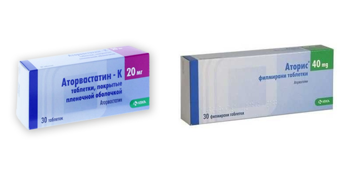 Аторис и Аторвастатин