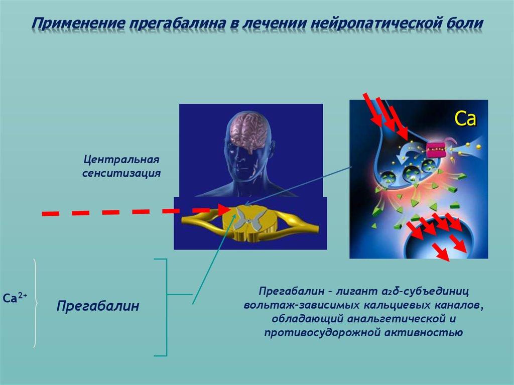 Применение препарата в лечении нейропатических болей