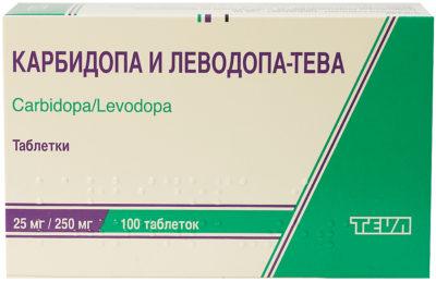 Карбидопа и Леводопа