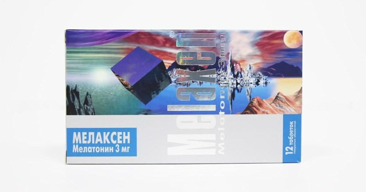 Мелаксен цена в Томске от 579 руб., купить Мелаксен, отзывы и инструкция по применению